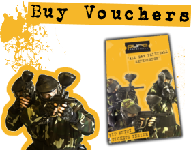 Paintballing Gift Vouchers